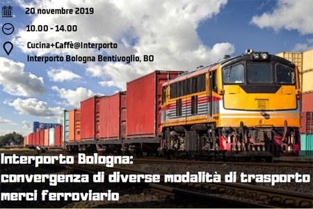 Interporto Bologna: convergenza di diverse modalità di trasporto merci ferroviario