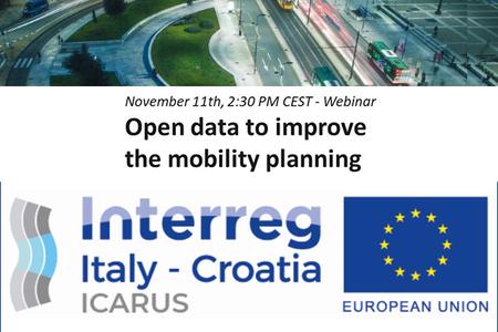 """""""Open Data per migliorare la pianificazione della mobilità"""""""