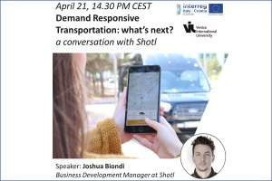 Webinar del progetto europeo Icarus - Il futuro del trasporto a chiamata