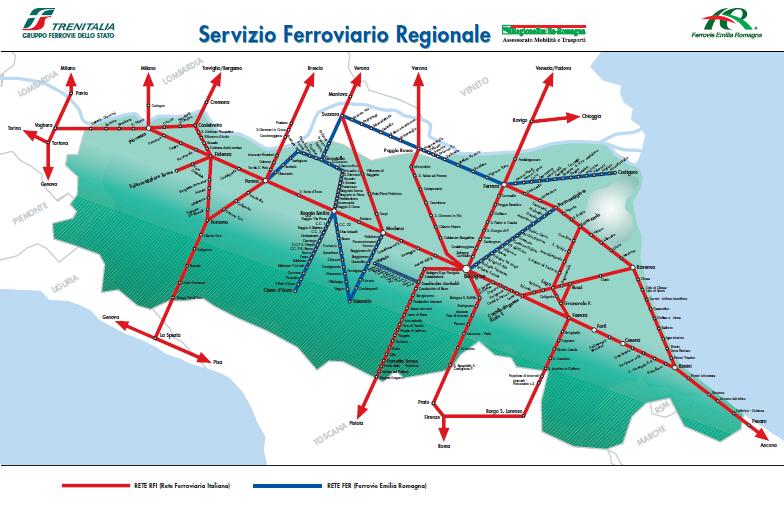 Cartina Ferroviaria Toscana.Cartina
