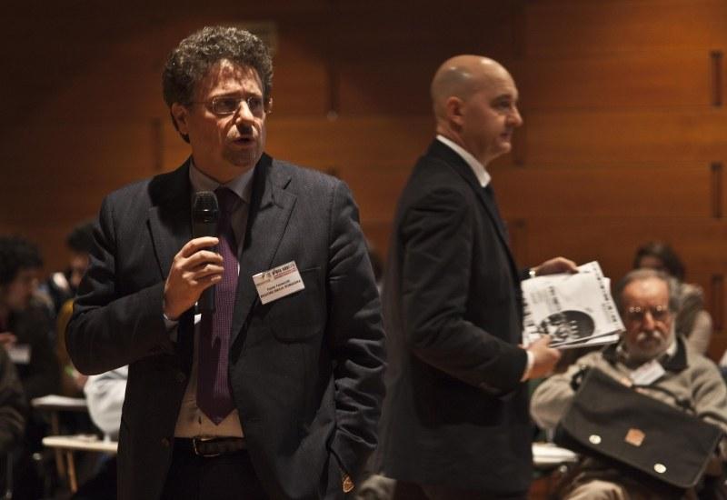 Sessione plenaria conclusiva - Da sinistra: Paolo Ferrecchi, Andrea Pillon
