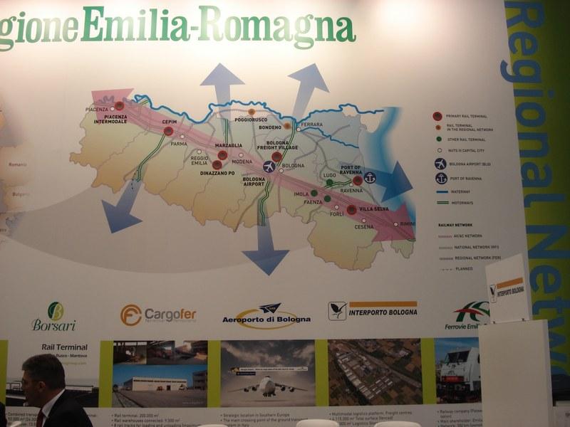 Stand Regione Emilia-Romagna