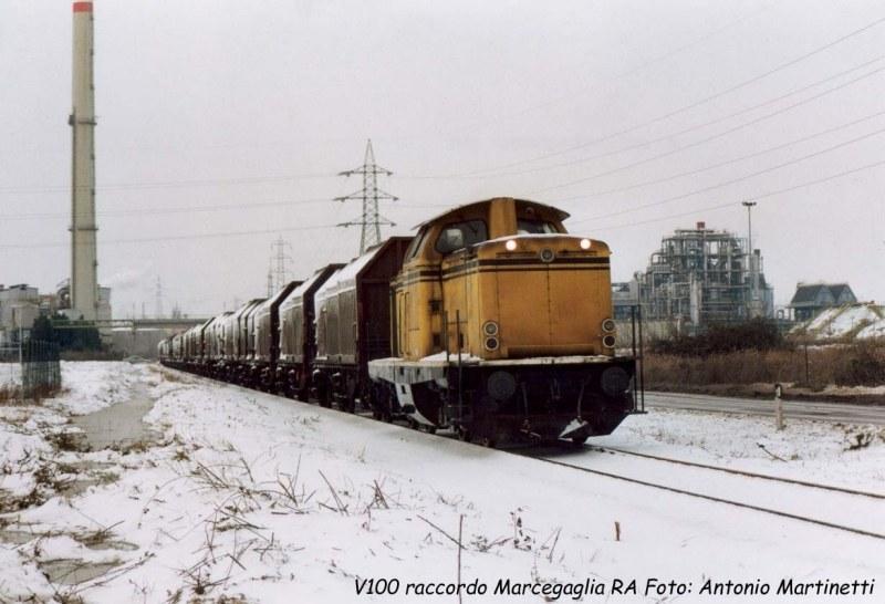 V 100 Servfer - Raccordo Marcegaglia Ravenna, gennaio 2001