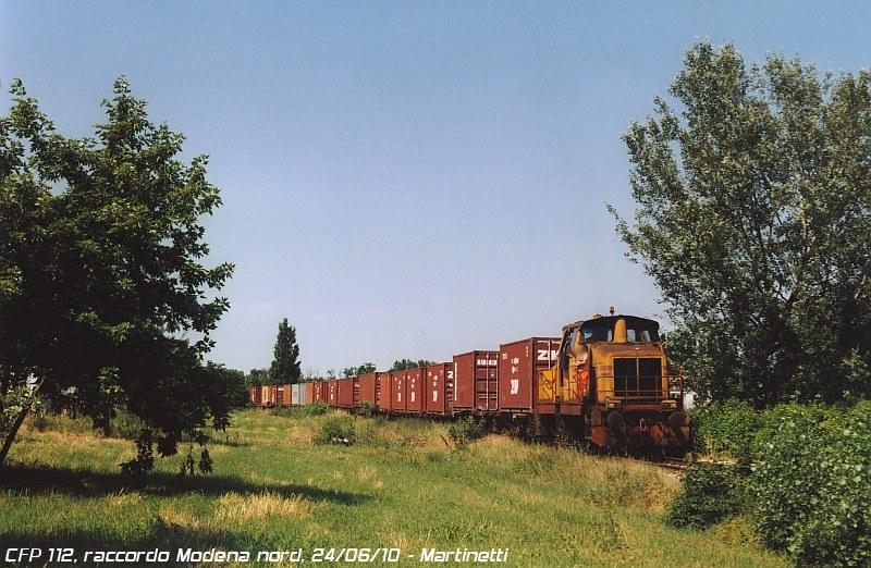 CFP 112 - raccordo Modena nord, giugno 2010