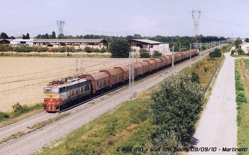 E 655 210 - Godo (RA), settembre 2010