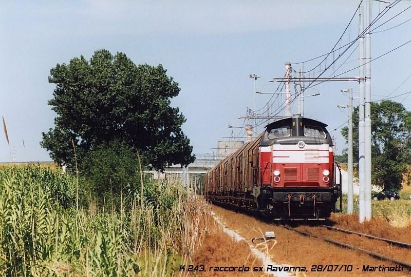 K 243 - raccordo sx Ravenna, luglio 2010