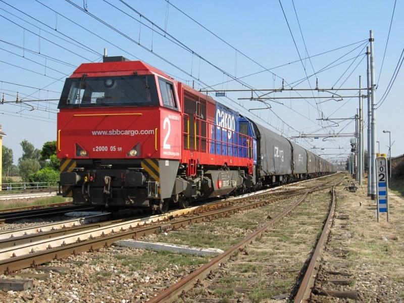 G 2000 02 SBB Cargo - Castelguelfo (BO), settembre 2011