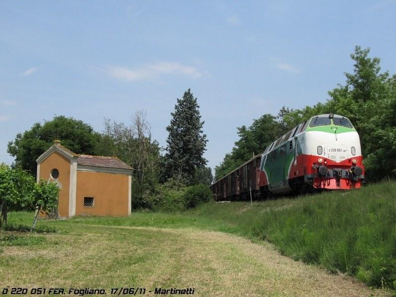 D 220 051 Fer - Fogliano (RE), giugno 2011