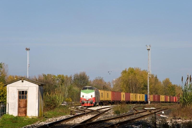 Raccordo porto di Ravenna - novembre 2013