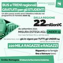 Gratuità del trasporto pubblico per gli studenti