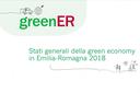 Stati generali della Green Economy, la Regione per un futuro più sostenibile
