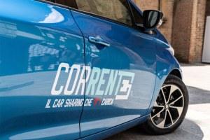 """Car sharing elettrico, dal 27 maggio """"Corrente"""" cresce"""