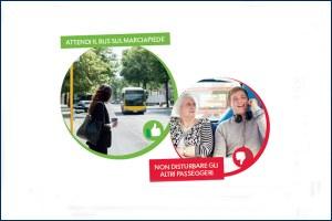 """""""Rispetta il tuo bus"""", campagna di Seta per un corretto uso dei mezzi pubblici"""