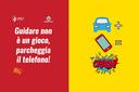 """No all'uso del telefonino mentre si guida, a Piacenza la nuova campagna di sensibilizzazione """"Ama la tua città"""""""