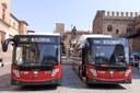 """Anima """"green"""" e massima accessibilità: Tper presenta 31 nuovi bus a metano liquido"""