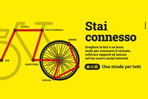 #andràtuttinbici, riparte la campagna per promuovere l'uso delle due ruote