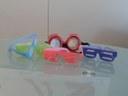 Occhiali utilizzati per le prove pratiche