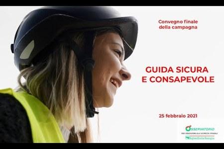 """Campagna """"Guida sicura e consapevole"""", convegno finale del 25 febbraio 2021"""