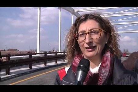Inaugurazione ponte di Migliarino - marzo 2015