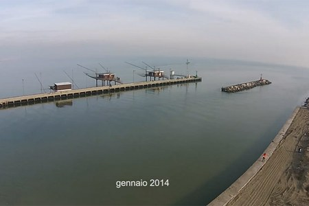 Porto Garibaldi - Adeguamento banchine e molo - gennaio 2014