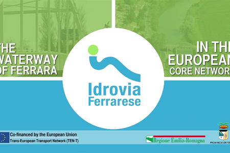 The waterway of Ferrara in the European Core Network (in english, no audio)